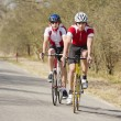 Cyclists close together — Stock Photo #9802016