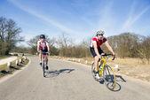 Cycling tour — Stock Photo