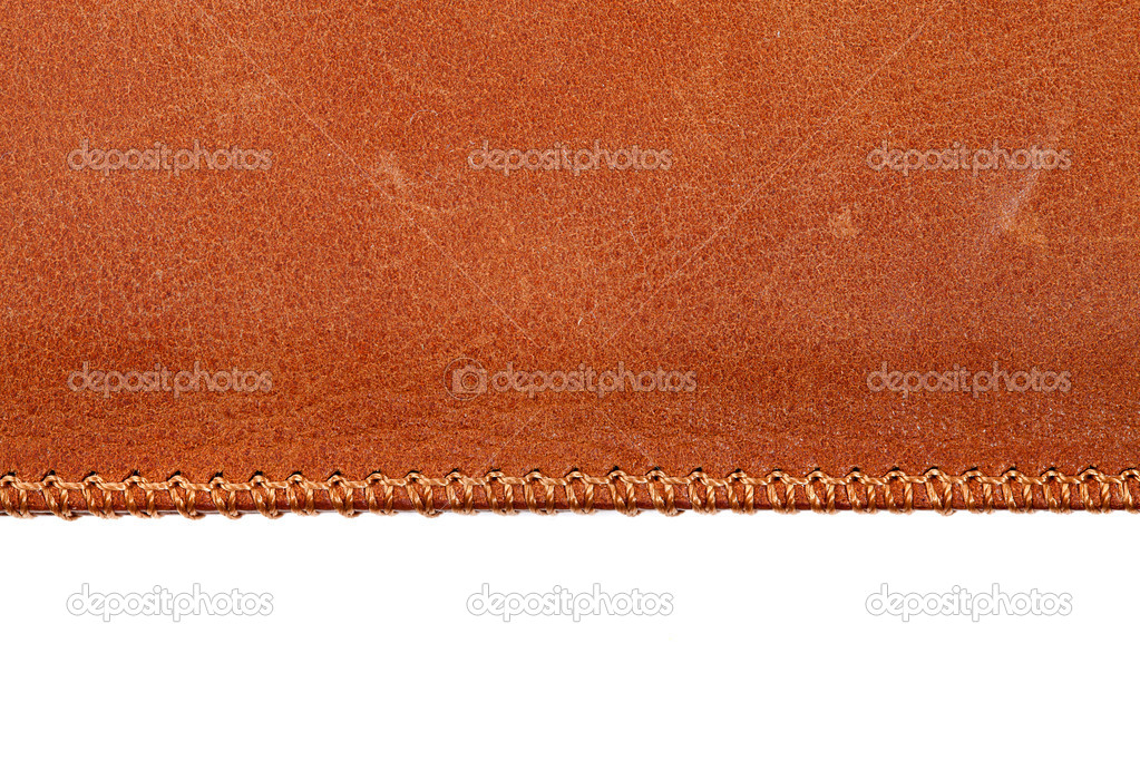 Leather texture close up — Stockfoto #8153398