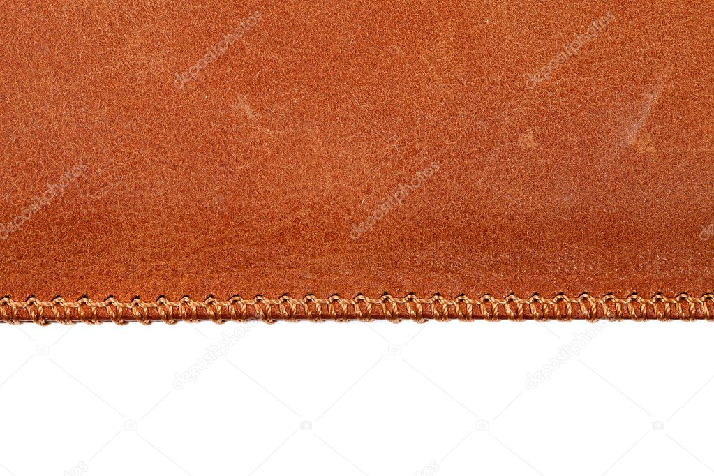 Leather texture close up — 图库照片 #8153398