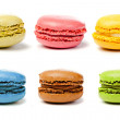 Assorted colorful french macarons — Stock Photo #8830481