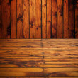 Royalty-Free Stock Photo: Wooden room