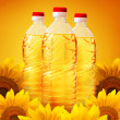 sunflower oil — Stock Photo
