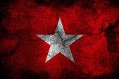Anti fascist flag — Stock Photo