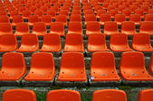 Stadium seats pattern — Stock Photo