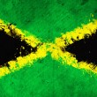 Jamaican flag — Stock Photo