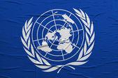 UN flag — Zdjęcie stockowe