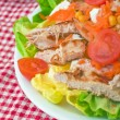 Stock Photo: Chicken salad