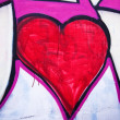 Heart grafitti — Stock Photo #10691014