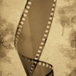 Old camera film strip — Stock Photo