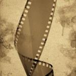 Old camera film strip — Stock Photo