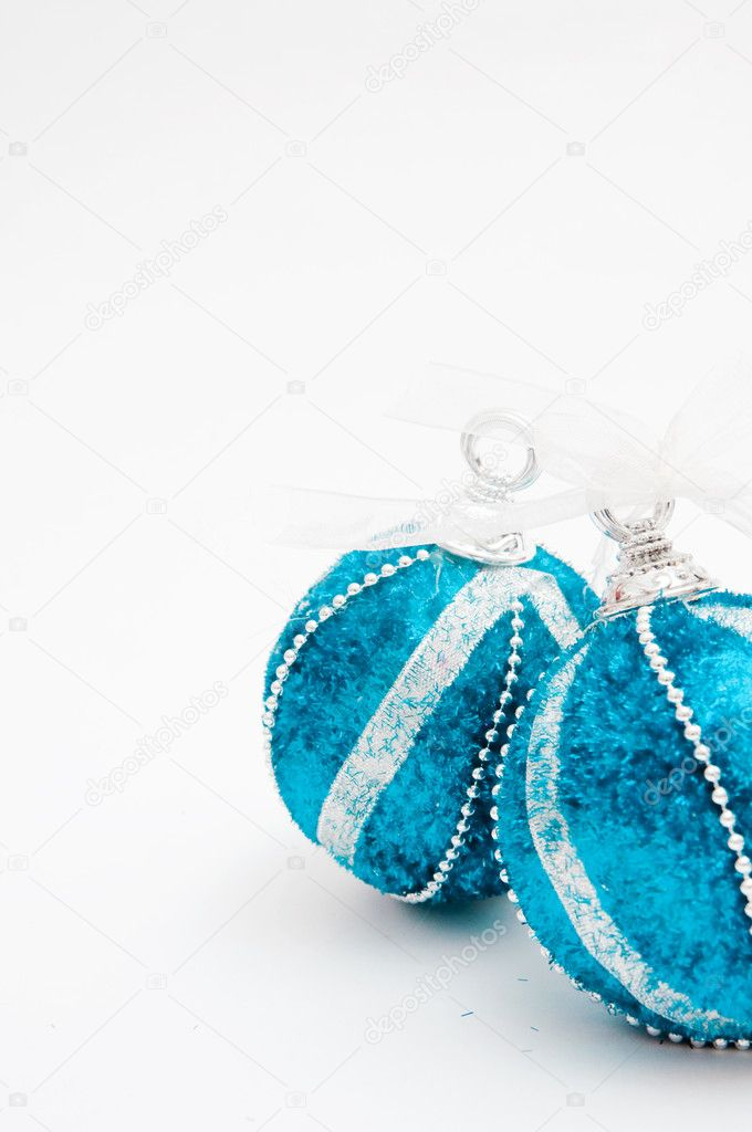 Christmas tree balls, beautiful New year decoration. — Stock Photo #8026784