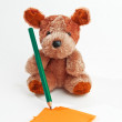 Teddy bear — Stock Photo #8160841