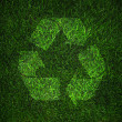 Recycle symbol — Foto de Stock