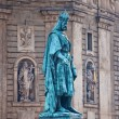 Charles statue in Prague - Photo