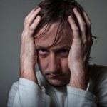 Depressive man — Stock Photo