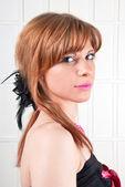 Młoda kobieta uroda portret — Zdjęcie stockowe