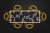 Brainstormen — Stockfoto
