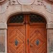 大規模な木製のドア — ストック写真