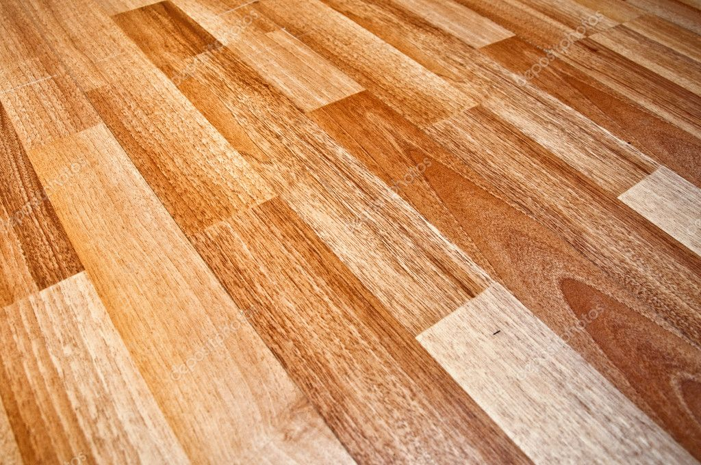 Close up detail of a beautiful wooden brown laminated floor — Stock Photo #9284975
