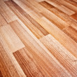 Wooden laminated floor - Stock Photo