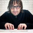 Hacker — Stock Photo #9523997