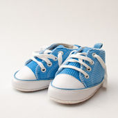 Baby Sneakers — Stock Photo
