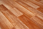 Wooden laminated floor — Stock Photo