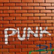Punk grafitti - Stock Photo