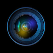 Wide DSLR lens — Stock Photo