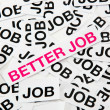 Better job — Stockfoto