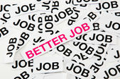 Better job — Stock Photo