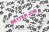 Better job — Stock Photo