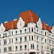 Residential building in Holesovice, Prague, Czech Republic — Stock Photo