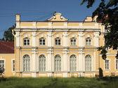 Metropolitan housing the Alexander Nevsky Monastery in St. Petersburg — Stock Photo