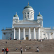 Stock Photo: Cathedral on Senate Square in Helsinki