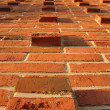 Relief masonry brick wall — Stock Photo