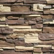 Ornamental stone cladding — Stock Photo