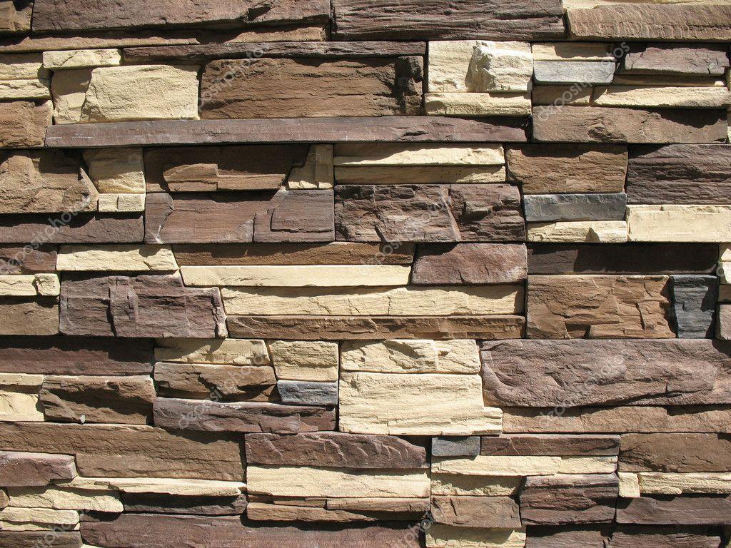 Revestimiento de piedra ornamental fotos de stock for Revestimiento de piedra