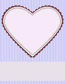 Alla hjärtans dag stationära — Stockvektor
