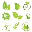 icono de eco — Vector de stock