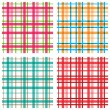 Royalty-Free Stock Vector Image: Plaid  patterns