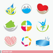 Icon design elements — Stock Vector