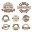 Royalty-Free Stock Imagen vectorial: Premium Quality Labels