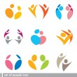 Set of icon — Stock Vector