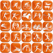 Set of sport icons — Stock Vector