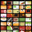 Royalty-Free Stock Vector Image: Business card set