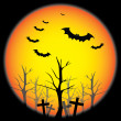 Royalty-Free Stock ベクターイメージ: Halloween Background