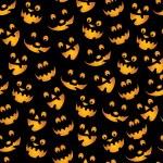 Halloween Pumpkins Background — Stock Vector