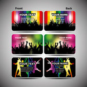 Colorful Business Cards — Vecteur